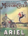 MOTOR CYCLE - MOTORCYCLE MAGAZINE - GUIDE TO OLYMPIA - 1ST NOVEMBER 1934 - M2312